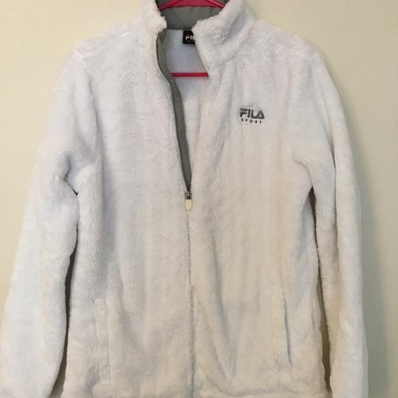 a4398e49 FILA Fuzzy Fleece Jacket